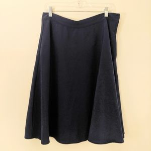 Modcloth Navy Myrtlewood A-Line Skirt